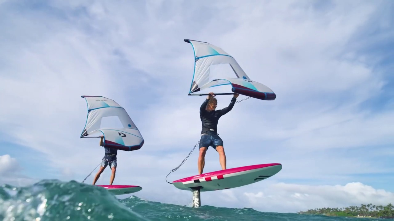 Le Wing Foil Le Mix Entre Kitesurf Sup Surf Et Windsurf