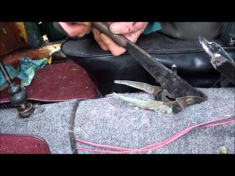 vw parking brake handle fix