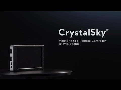 DJI CrystalSky - Monitor to a Remote Controller (Mavic / Spark)