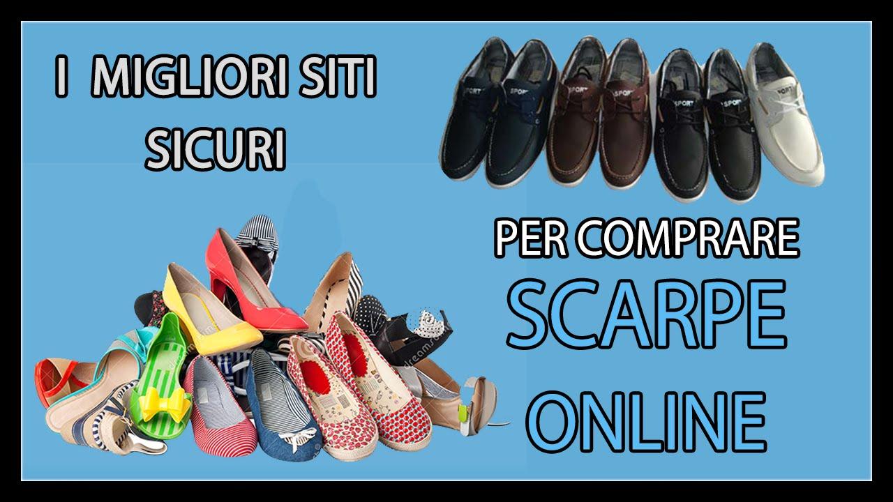 3dc9adf8c6 I Migliori Siti Per Comprare Scarpe Online in Totale Sicurezza