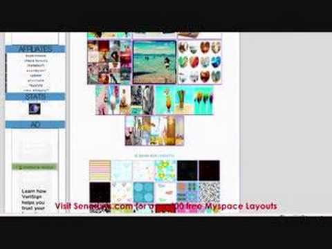 SenorLyts.com --Myspace Layouts Codes and Graphics