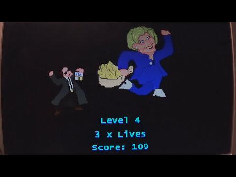 HILLIARY'S CASH DASH VIDEO GAME