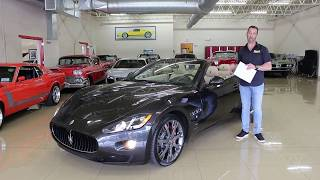 '14 Maserati Gran Turismo for sale with test drive, driving sounds, and walk through video