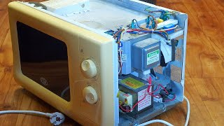 Microwave oven - how does it work & how to fix it