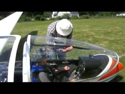 Option aéronautique - Baptême de l'air au collège