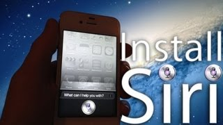 Install And Use Siri Iphone Without Spire Server Proxy Iphone 4s