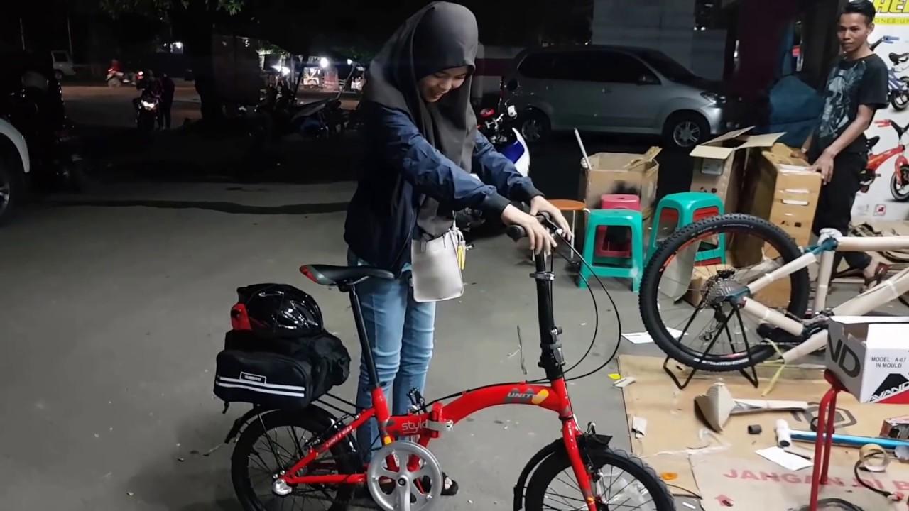 Upgrade United Stylo 16 Inch Folding Bike Youtube