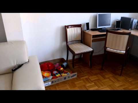 Экскурсия по нашей квартире в Bad Sooden-Allendorf (03.07.2015 г.)