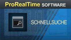 Schnellsuche - ProRealTime