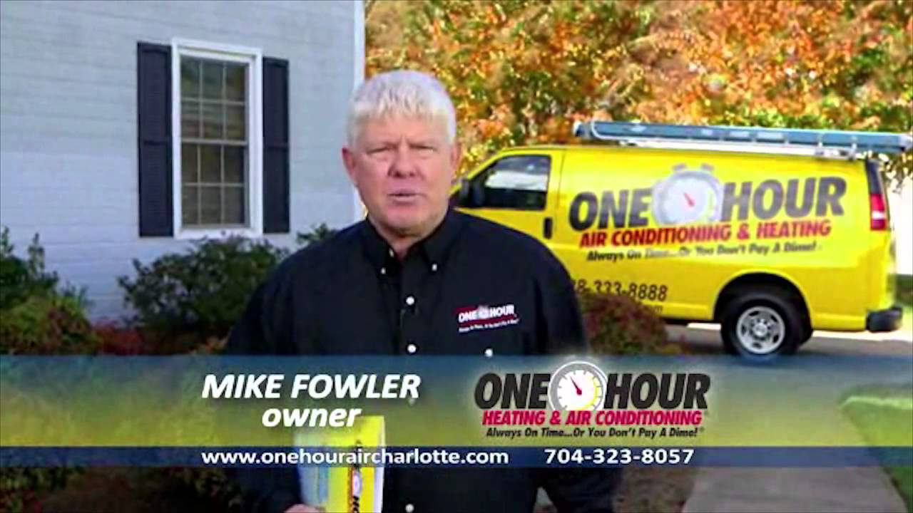 Charlotte Hvac Company 704 323 8004 One Hour Air Conditioning Heating