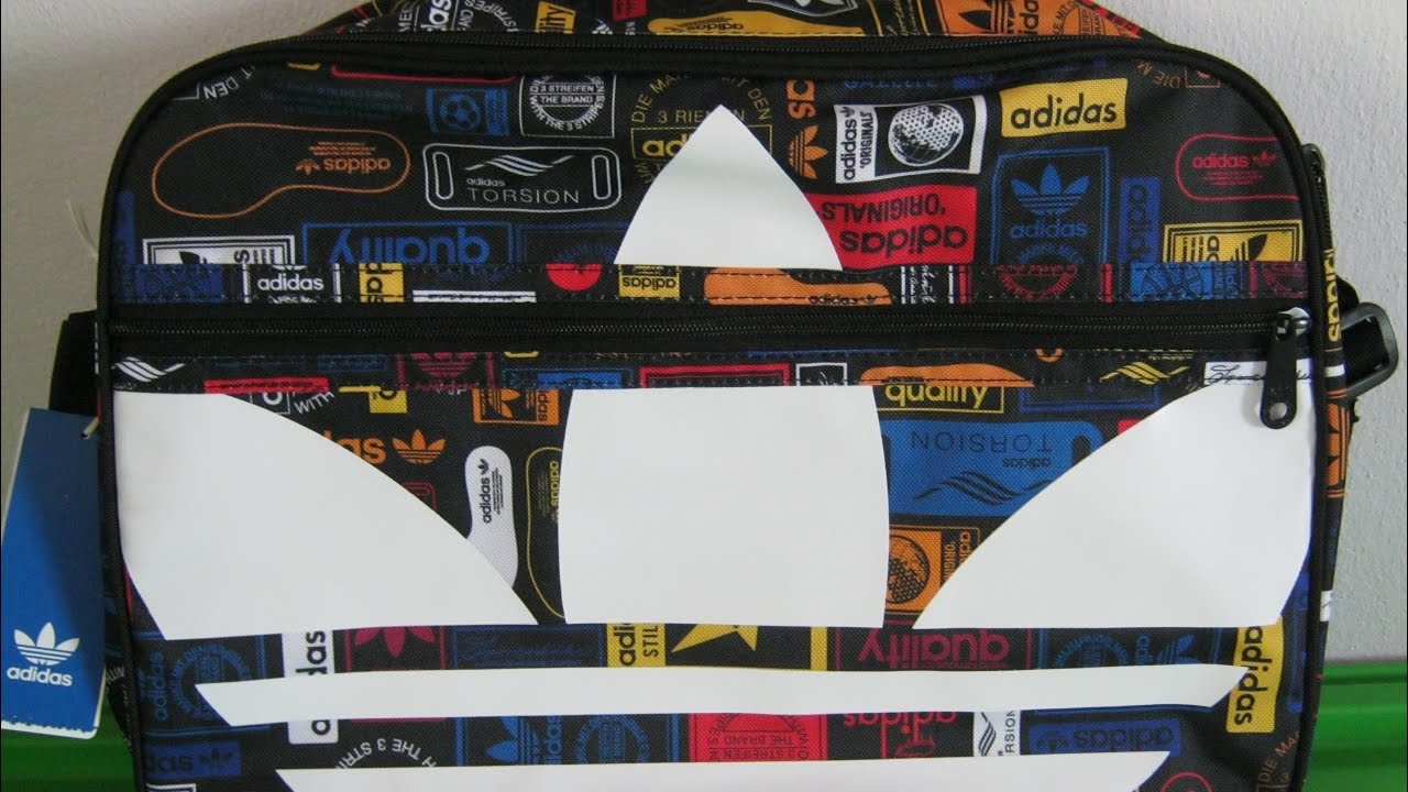 Adidas Originals - Trefoil Graphic Airliner Bag (MULTCO)    019 ... ba086c2d64