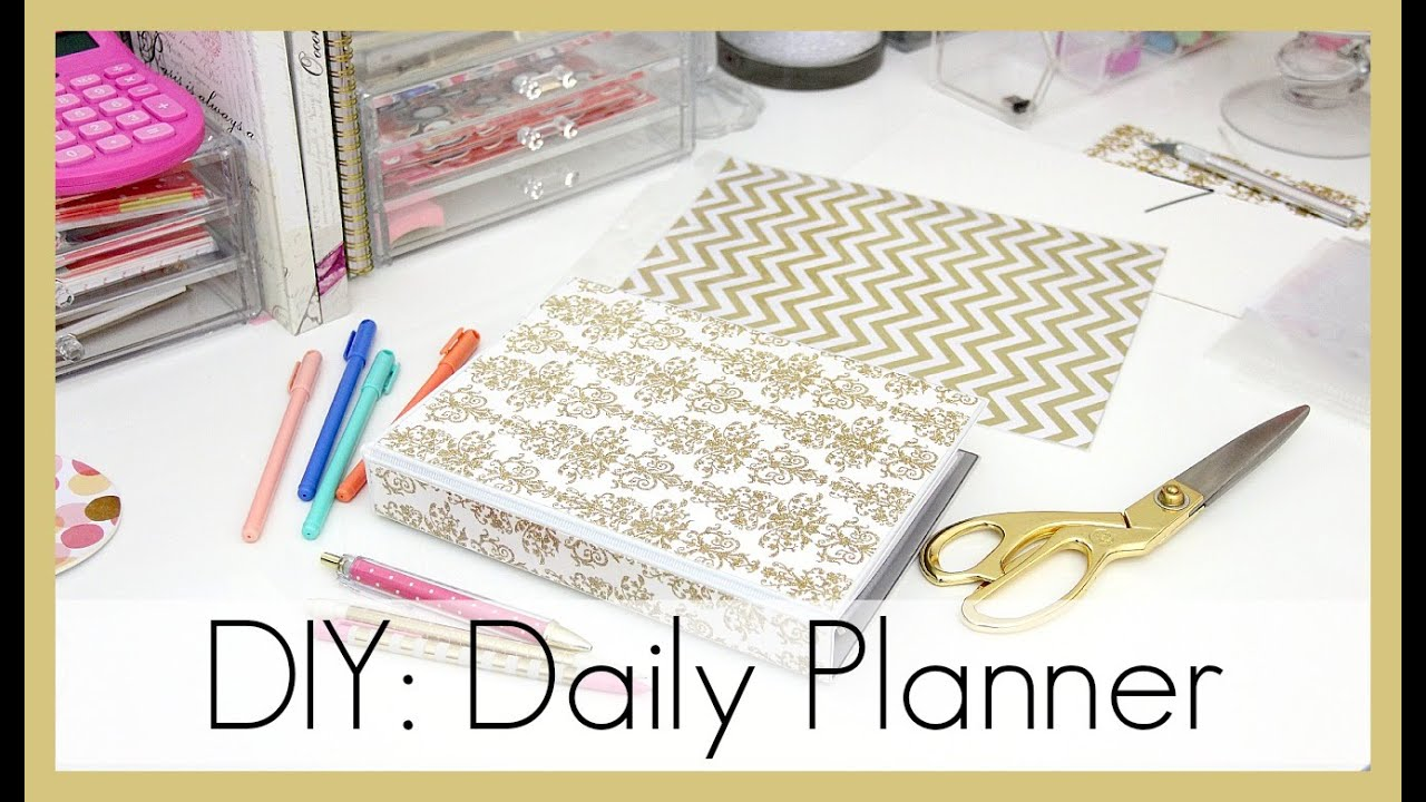 graphic relating to Diy Daily Planner titled Do-it-yourself: How I Created My Day-to-day Planner erisaxo