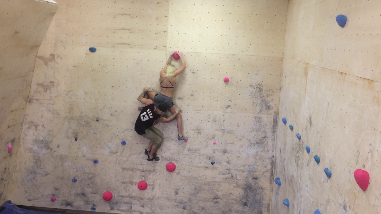 Partner climb at sierra blair coyle s home gym youtube