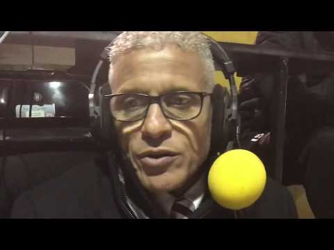 Keith Curle speaks to BBC Radio Northampton after the Emirates FA cup loss at Lincoln City
