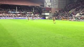 Danny Wilson goal v Alloa