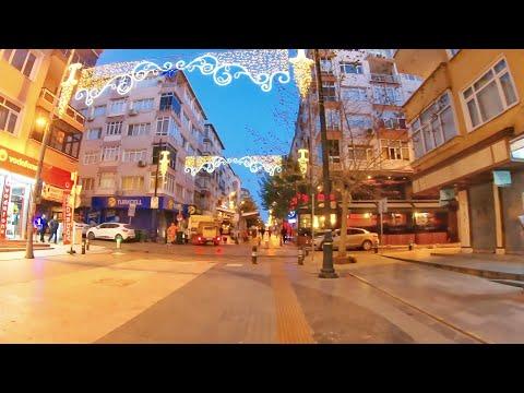 Küçükçekmece   Walking Tour   Istanbul 🇹🇷 [4K]