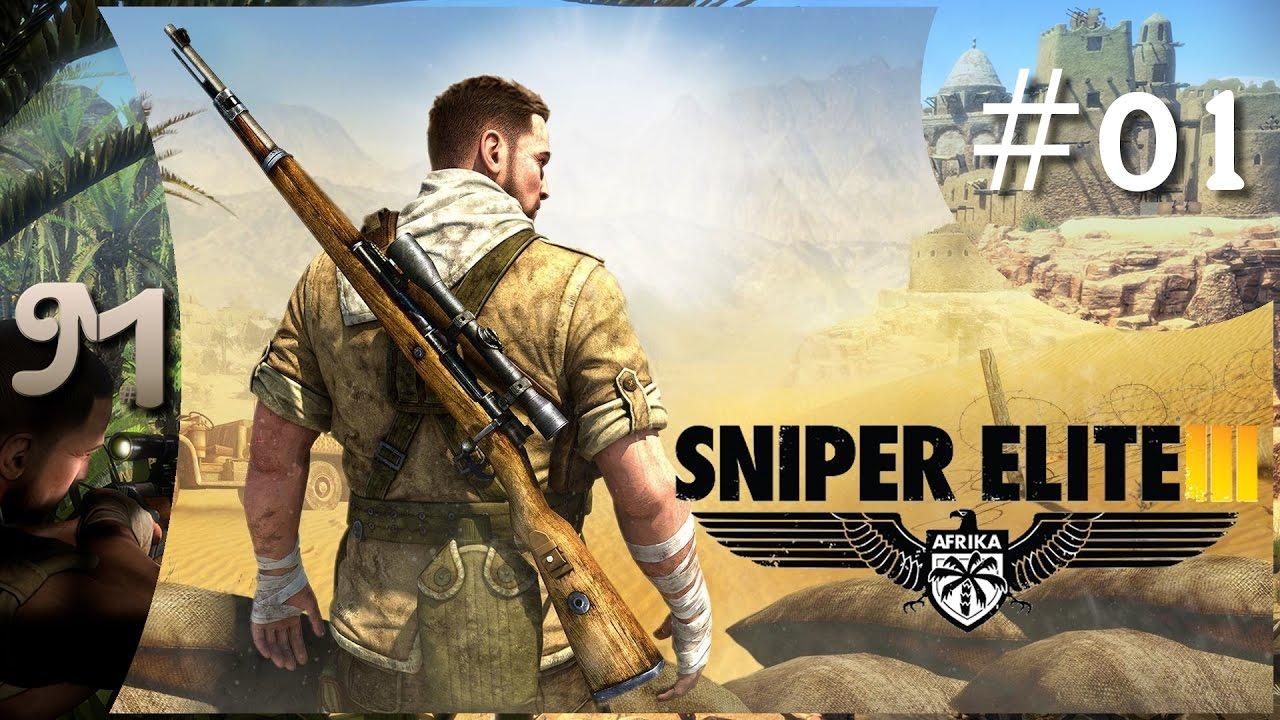 Sniper Elite 3 Gameplay German PC Part 1 Lets Play Deutsch Koop