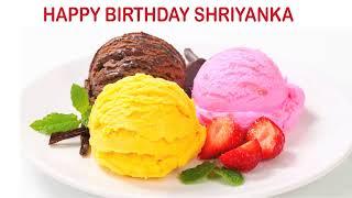 Shriyanka   Ice Cream & Helados y Nieves - Happy Birthday