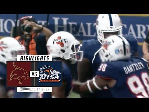 Texas State vs UTSA Football Highlights (2018) | Stadium