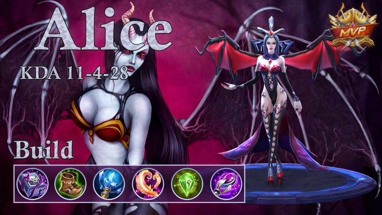 Best Build For Alice Mobile Legends