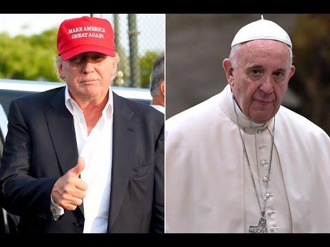 On Ne Hristianin Papa Rimskij Pro Donalda Trampa Youtube