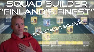 "Squad Builder | ""Finland's Finest"" [SUBSCRIBER SQUAD] - RAGE CAM W/ LIVE GAMEPLAY! Thumbnail"