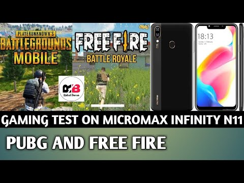 Micromax Infinity N11 Gaming Test & Review II Pubg & Free Fire II Heating, Performance,Battery Drain