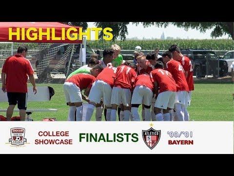 2018 Atletico Santa Rosa Bayern Davis College Showcase Highlights