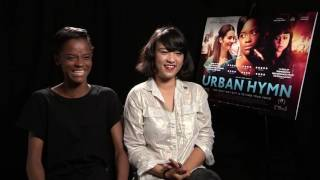 connectYoutube - Letitia Wright and Isabella Laughland LOVE music. Urban Hymn interview.