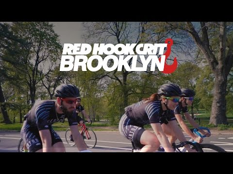 Red Hook Crit Brooklyn 2017 with Aventon Factory Team Trailer