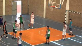 VIDEO 3º CUARTO CAJASOL CADETE B 48   C B  CAREBA JUNIOR 60  17 9 13