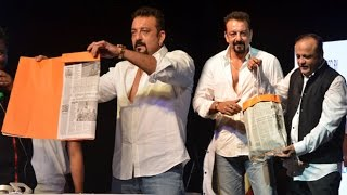 Sanjay Dutt Making Paper Bags Which Learnt In Jail