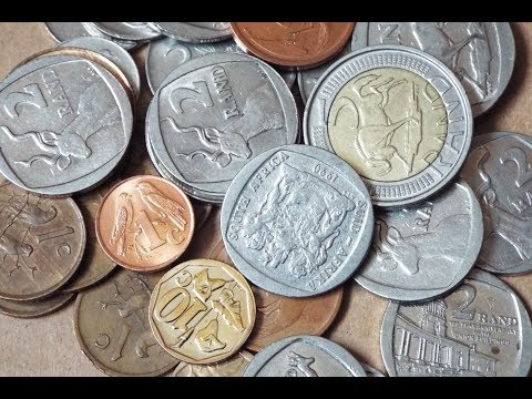 South African Coin Collection (2018)