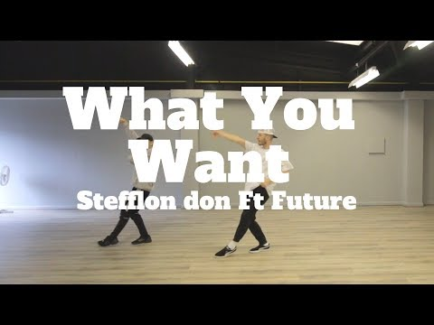 WHAT YOU WANT STEFFLONDON FUTURE  Choreography Chris Parry  BKS