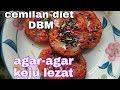 Cemilan Dari Agar-agar +keju Cemilan Diet Dbm Kw 😁