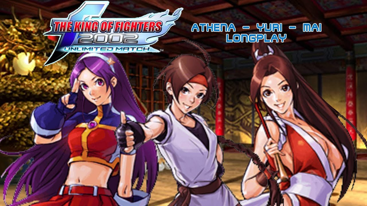 The King Of Fighters 2002 Unlimited Match Xbox 360 Athena Yuri