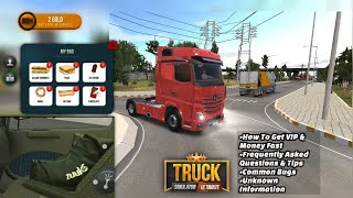 Truck Simulator: Ultimate - Tips & Tricks, How To Get Money/ VIP Fast, Common Bugs & Unknown Info screenshot 3