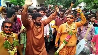 Ram Nagar Akhil Pailwan dance  Akhil Pailwan Bonalu 2017
