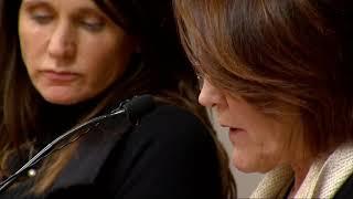 Chris Watts' parents speak at their son's sentencing