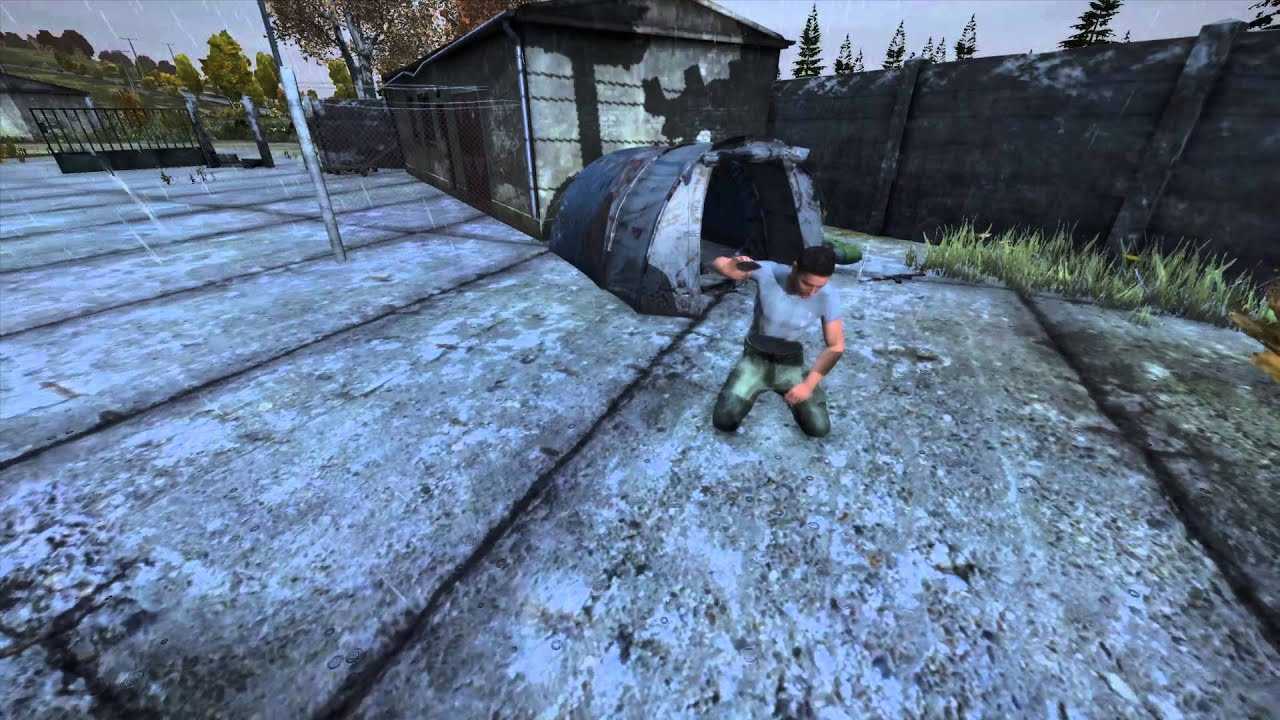 how to make a stone knife in dayz