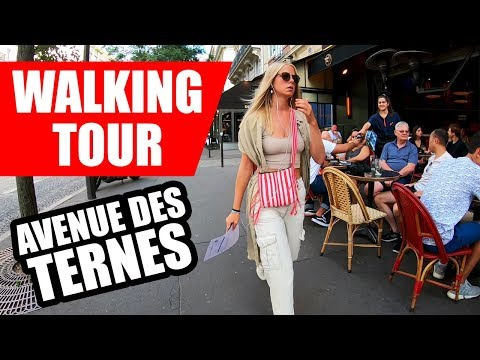 Paris Walking Tour Avenues des Ternes