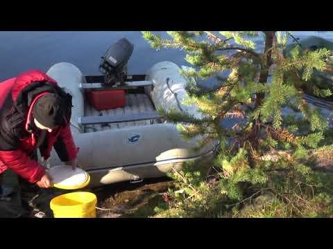 Рыбалка в Северной Карелии. Протока Койгера. Далекое путешествие.