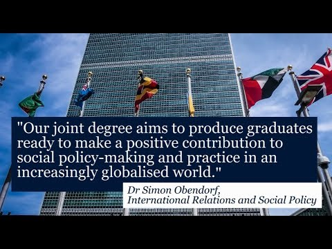 International Relations and Social Policy | BA (Hons