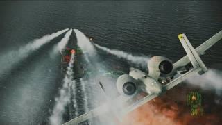 ACE COMBAT ASSAULT HORIZON - PS3 / X360 - Full-Blown Assault (Gamescom 2011 Trailer)