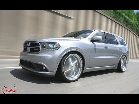 UNIQUE DURANGO R/T BAGGED ON 24x10 BILLET ONE OF A KIND BUILD, BANGING SYSTEM + MORE