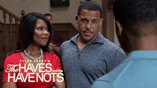 Jeffery Is Suspicious of David and Veronica | Tyler Perry's The Haves and the Have Nots | OWN