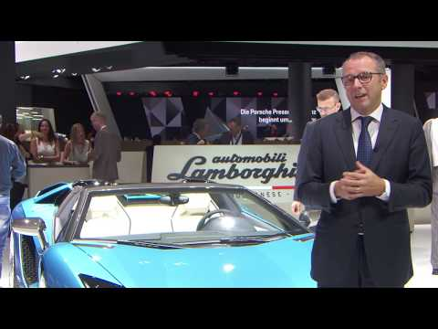 Lamborghini CEO Domenicali on Aventador S Roadster, Ad Personam and Urus