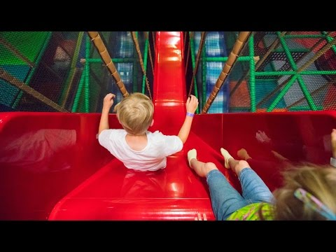 Busfabriken Indoor Playground Fun for Family and Kids