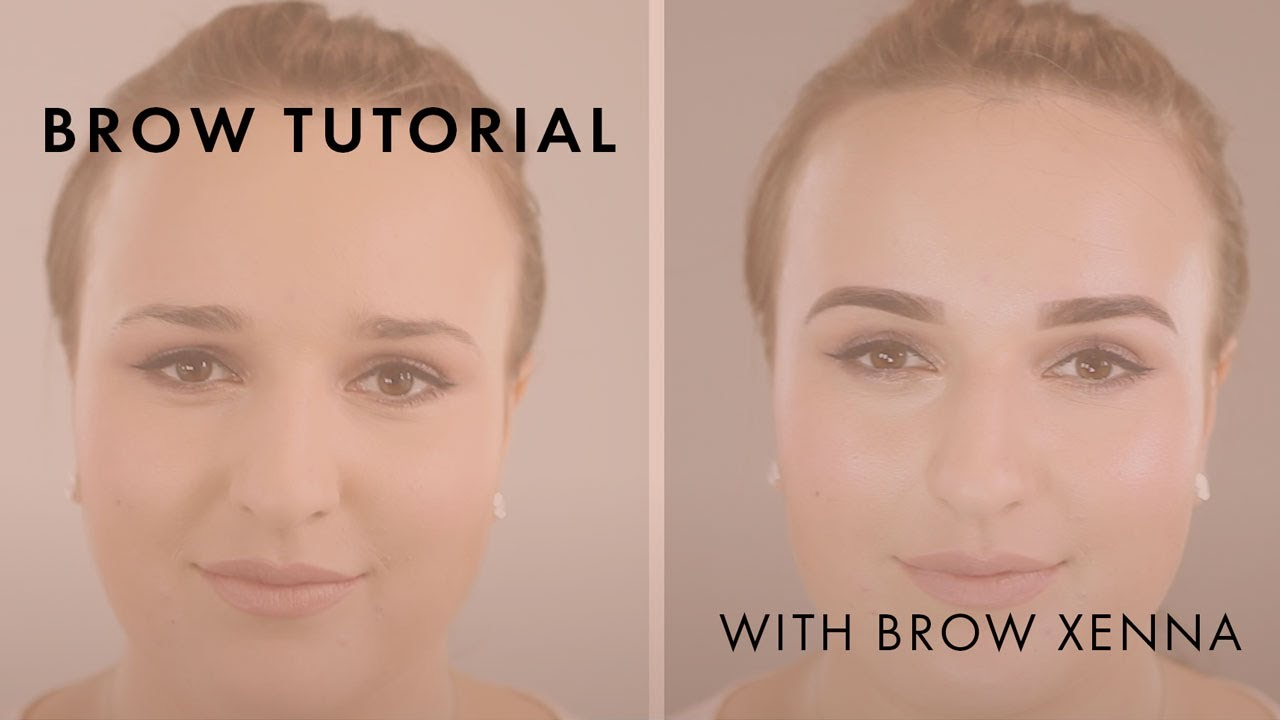 Henna Brows Tutorial By London Lash Pro Youtube