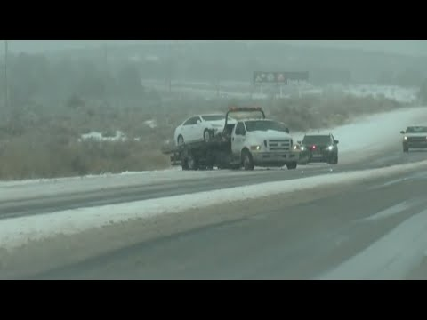 Snowstorm moving across New Mexico headed for Albuquerque